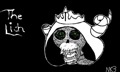 Adventure Time: The Lich by nk3-ATR