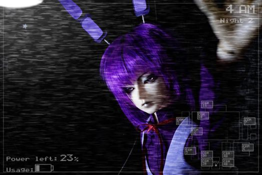 cosplay_Bonnie from FNAF1 by DeathGuise13