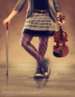 lindsey stirling by Zeablast