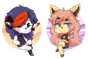 Chibi Comm by Artist-squared