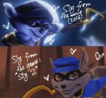 Movie Sly VS Video Game Sly by Miikage