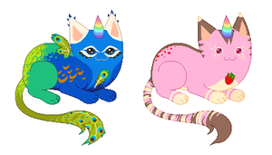 Custom UniCats for WintryAbyss by mouldyCat