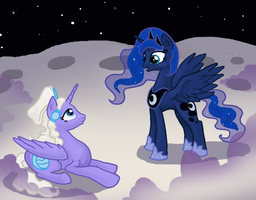 Welcome to the Moon by Bedupolker