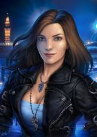 Sin City Sorceress by Candra