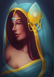Symmetra - Re-imagined by DraskiasArt