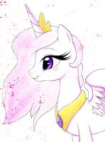 Young Celestia Bust by PrettyPinkP0ny