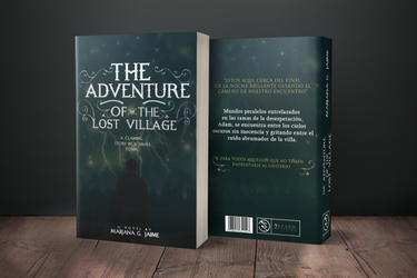 Adventure Bookcover by xxvrilx