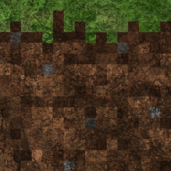 Minecraft Grass Block by Dinodaw
