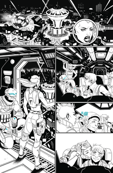BubbleGun Issue 1 pg1 by AngelTovar
