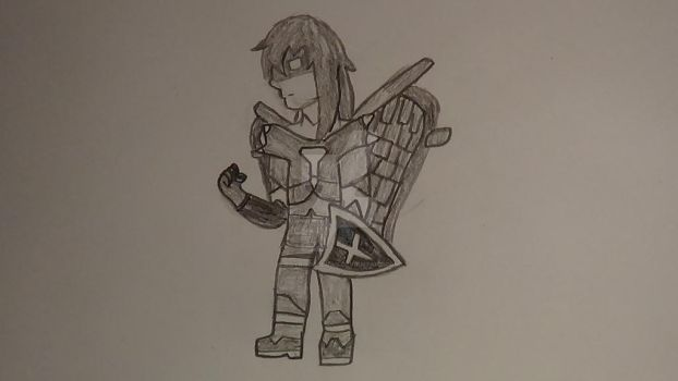 Decided to draw my Terraria character by RoyRockClaws