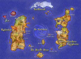 Map of Azeroth by Prince-Philip