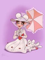 Mickey Ears - Mary Poppins by DylanBonner