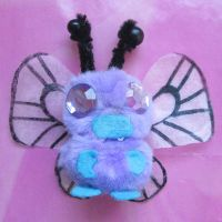 Pompon Beast: Butterfree / Smettbo by FiyahKitteh