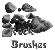 Rock Brushes by pokefan