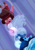 Ruby and Sapphire~ by Dirtytimi