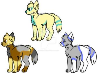 Adopts! :D by toxicrose12