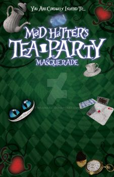 Mad Hatter Invite by Milomax27