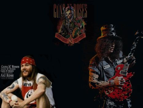 Guns 'n roses old times by clevison