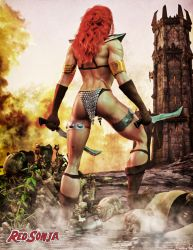 Red Sonja - The Tower by Hubby72