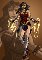 Wonder Woman by ADL-art