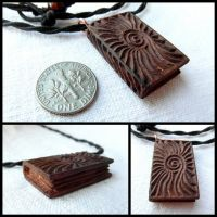 MINI BOOK OF NATURE (PENDANT) by MassoGeppetto