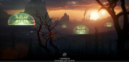 Domes Of Hope by tigaer