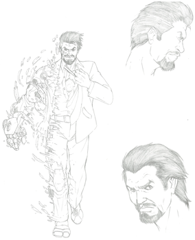 Iron Man Comic: Tony Stark by shinlyver