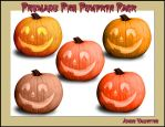 Premade Png Pumpkin Pack by Lady-Valentine-Art83