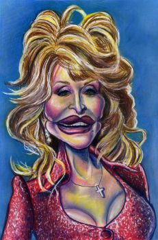 Dolly Parton by Caricature80