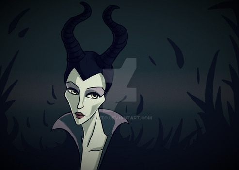 Maleficent by Shiito