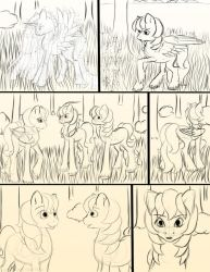 Chapter 12 page 7 sketch by FlyingPony