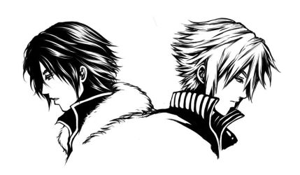 Squall and Cloud by Yoon-san