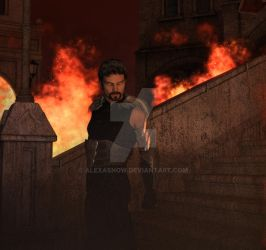 Kirkwall Is Burning Down by alexasnow