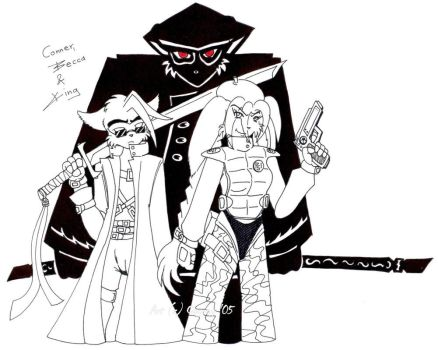 The Trio by caycay