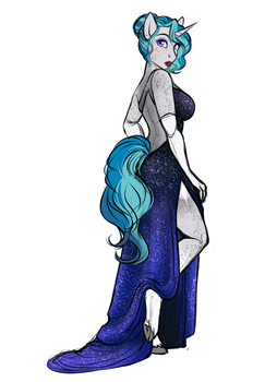 Willoverse: Bubble's Gala dress by AskBubbleLee