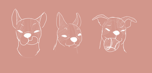 Salsicha expressions concept by NikkyLooka