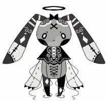 monochromatic monster adoptable  closed by AS-Adoptables