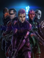 mass effect commish by alecyl