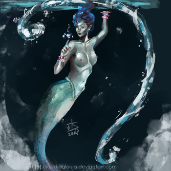 - Goddess Of The Sea by ClaudiaAloisia