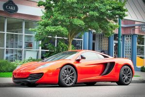 Vocano Orange MP4-12C by SeanTheCarSpotter