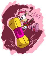 Classic Boom - Amy Rose by IceNinjaHard