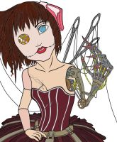 mechanical doll by kitten-Red