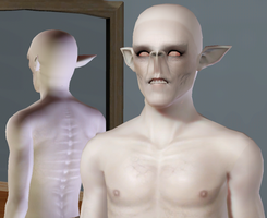 Falmer in Sims 3 (WIP) by CamKitty2