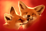 Fluffy love by Martith