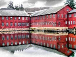 factory's reflection by heatherspettals
