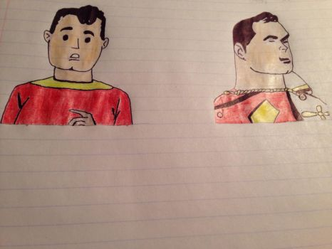 Billy Batson to Captain Marvel! by kumoshinobi