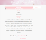 Clean Floral Themed Journal Skin by Sukiie