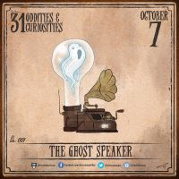 Day 7 of 31: The Ghost Speaker by chrisraimoart