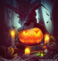 Halloween Pumpkin by S-Lana