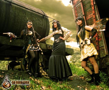 STEAMPUNK COLOMBIA by METARNES